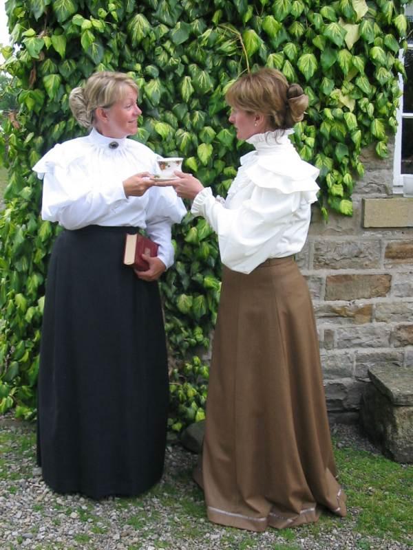 Costumes; Miss Prim and Miss Proper